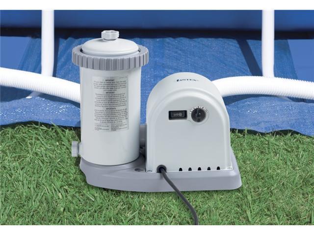 INTEX 1500 GPH Easy Set Pool Filter Pump w/Timer & GFCI