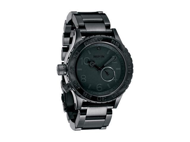 Nixon 42-20 Tide Men's Analog Watch - All Black
