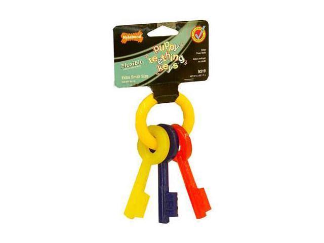 "Nylabone Puppy Teething Keys – EXTRA SMALL (5.5"")"