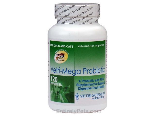 Vetri-Science Vetri-Mega Probiotic (120 Caps)