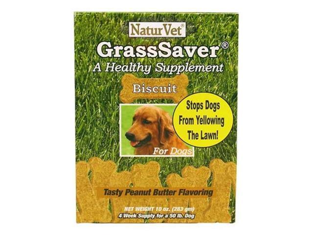 NaturVet GrassSaver Biscuits (10 oz)