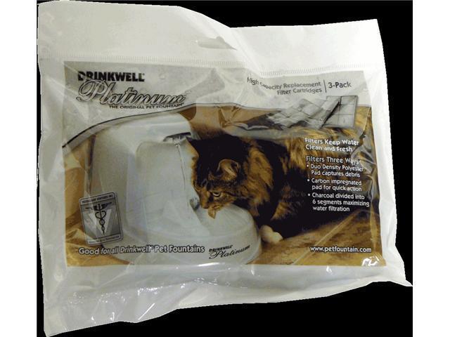 Drinkwell Platinum Replacment Filter Cartridges (3 Pack)