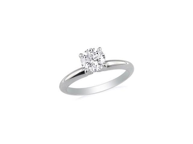 1/3ct Diamond Engagement Ring in 14k White Gold, J/K, I1/I2