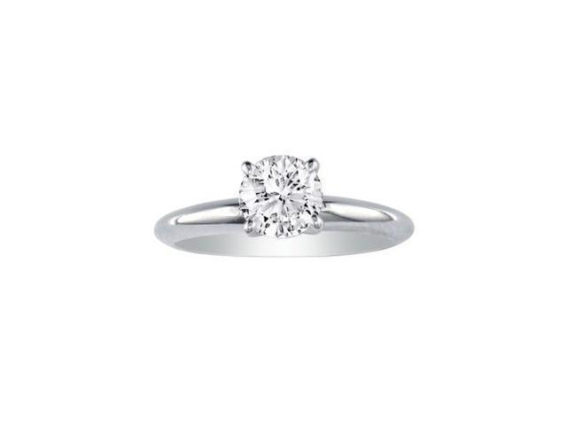 18k White Gold 3/4ct Engagement Ring, A Steal, J/K color, SI3/I1