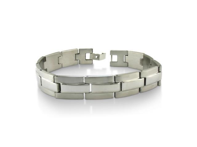 """Stainless Steel Men's Link Bracelet 8 3/4"""""""
