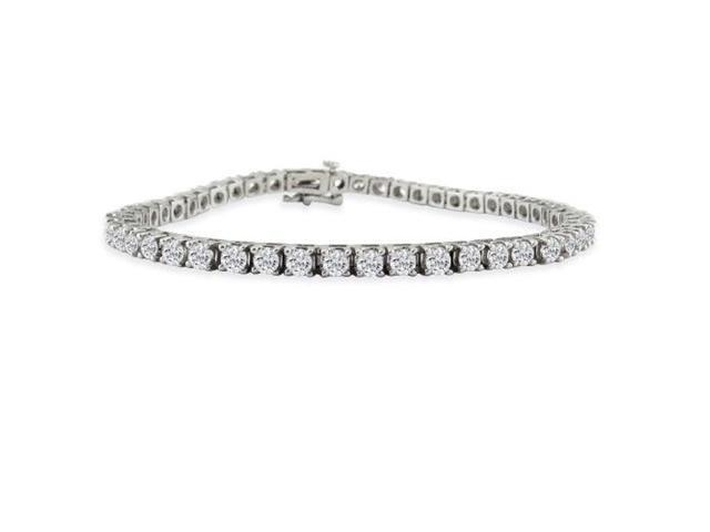 2ct Diamond Tennis Bracelet in 14k White Gold. Seen on Fox News.