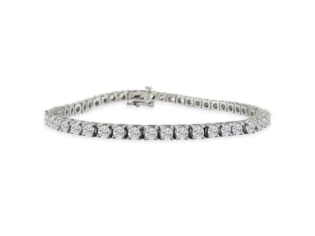 CLOSEOUT! 6ct Diamond Tennis Bracelet in 14k White Gold