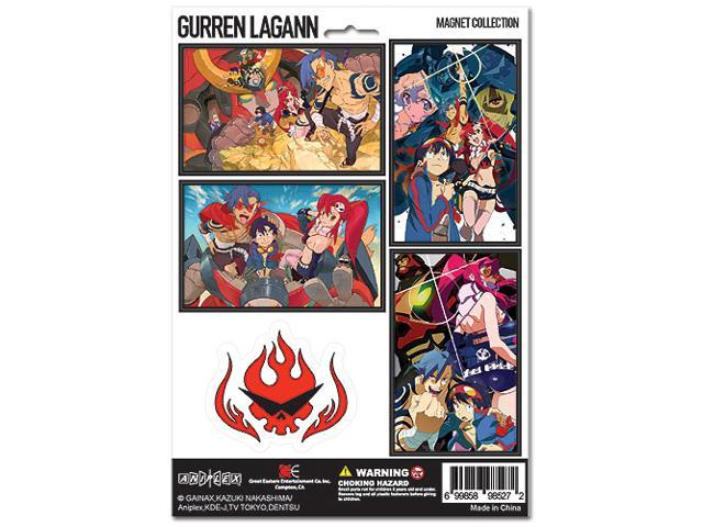 Gurren Lagann Magnet Collection