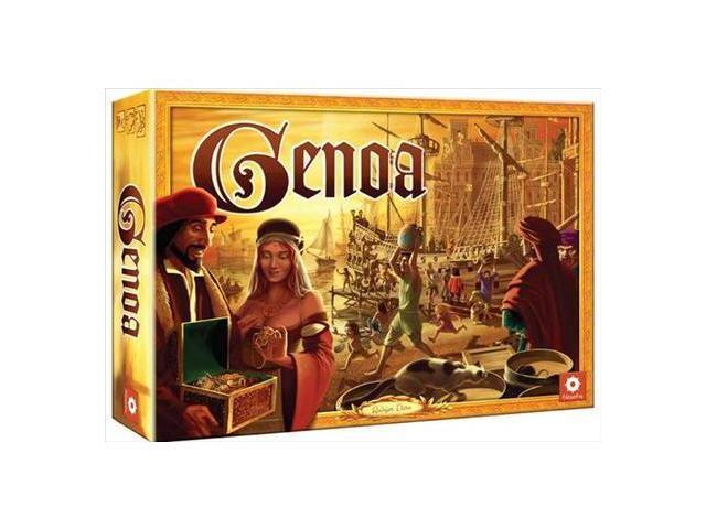 Traders of Genoa Board Game