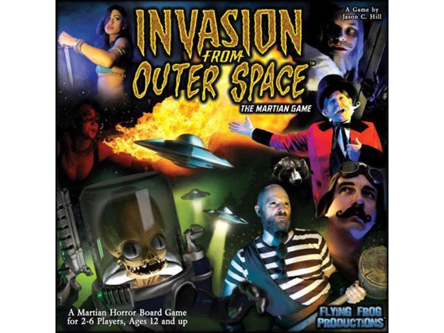 Last Night on Earth Invasion Outer Space