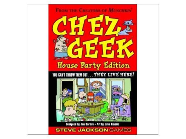 Chez Geek House Party Edition Game by Steve Jackson Games