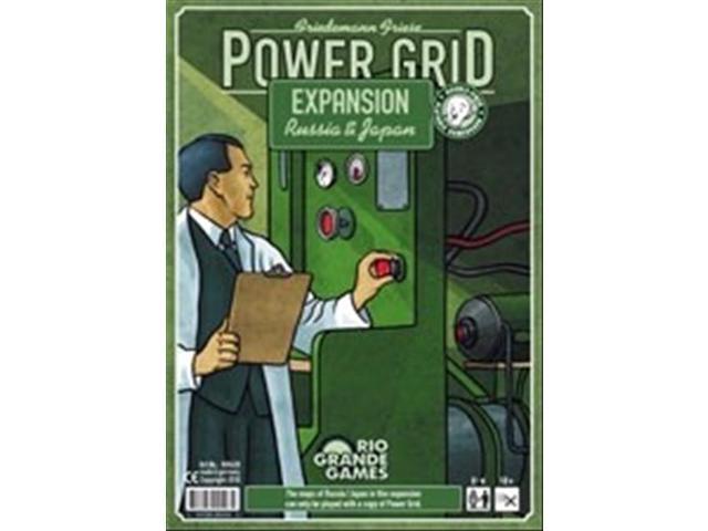 Power Grid: Russia & Japan