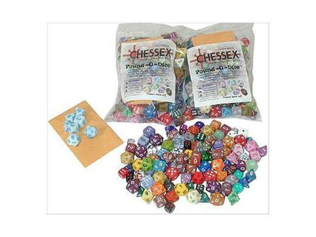 Chessex Manufacturing 001LB Pound Of Dice