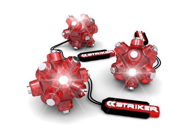 Striker Magnetic Light Mine Hands Free LED Flashlight - 3 Pack
