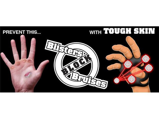 Striker Tough Skins - Light Weight glove - Palm Protection from blisters and vibration