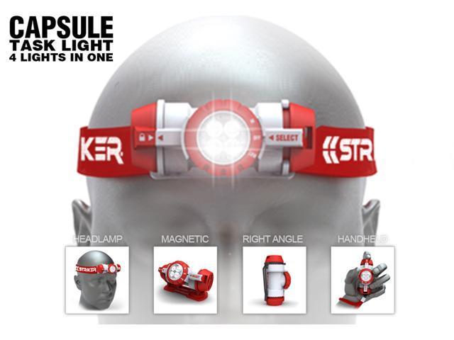 Striker Capsule Head Lamp - 4 in 1 Task Light