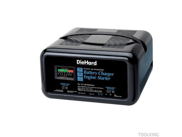 Diehard 71222 Fully Automatic Battery Charger Engine
