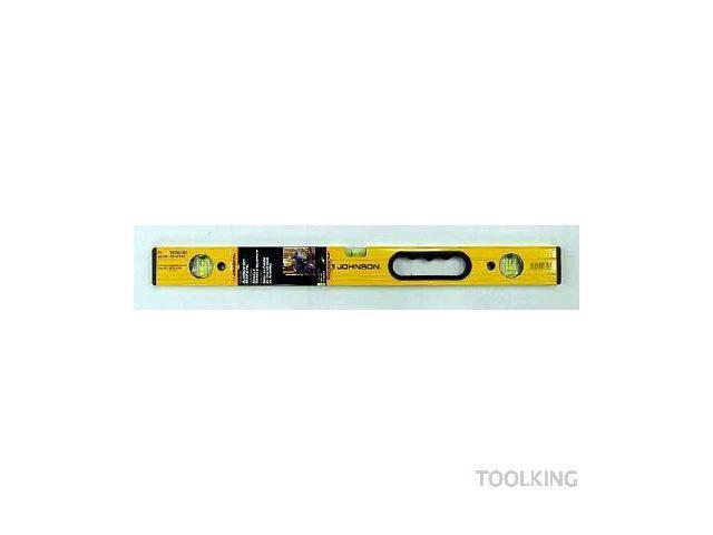 Johnson 9824-HH 24-Inch Aluminum Box Level