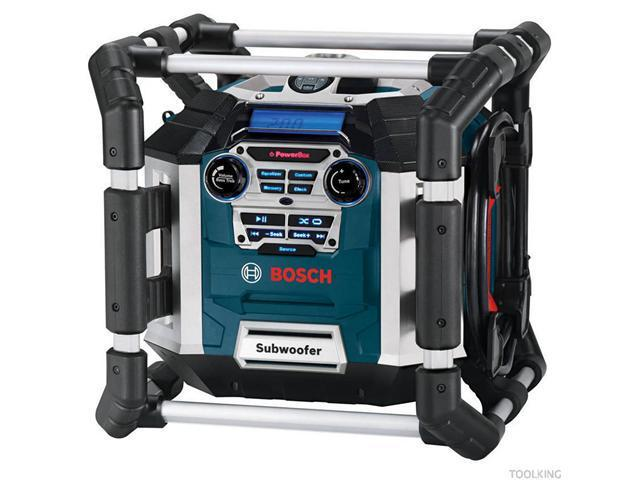 PB360S Power Box Jobsite AM/FM Stereo & Charger w/ MP3 Compatibility