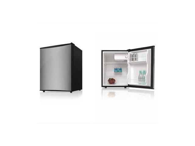 Midea 2.4 cu. ft. (68 L) Single Door Refrigerator Stainless Steel HS-88LSS