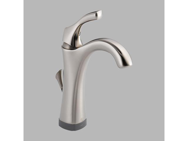 Delta 592T-SS-DST Addison Single Hole Single-Handle High Arc Bathroom Faucet wit