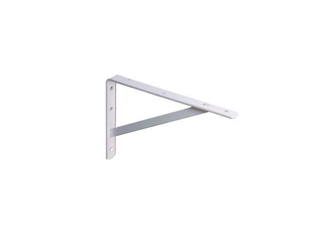 Knape & Vogt 208WH550 22-Inch L-Shaped Heavy Duty Extension Bracket, White