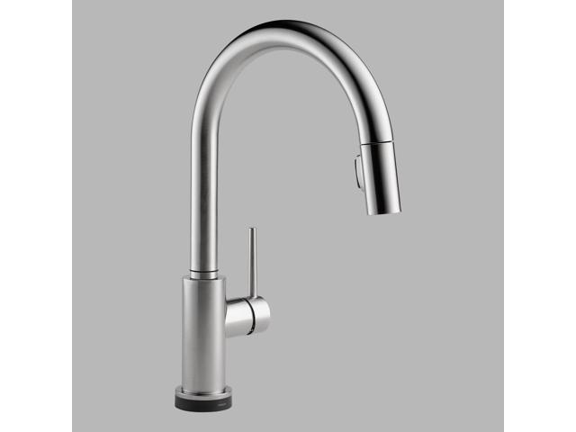 Delta 9159T-AR-DST Trinsic Single-Handle Pull-Down Sprayer Kitchen Faucet in Arc