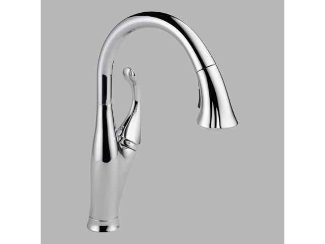Delta 9192-DST Addison Single Handle Pull-Down Kitchen Faucet, Chrome