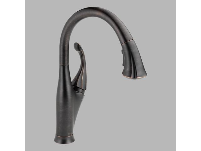Delta 9192-RB-DST Addison Single Handle Pull-Down Kitchen Faucet, Venetian Bronz