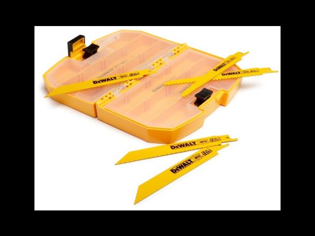 DeWalt DW4890 15-Piece Wood/Metal Cutting Reciprocating Saw Blade Set
