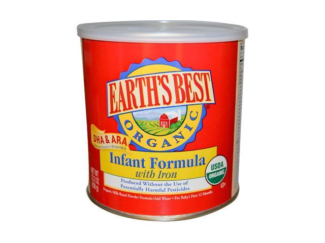 Earth S Best Organic Formula With Dha Amp Ara 23 3 Ounce