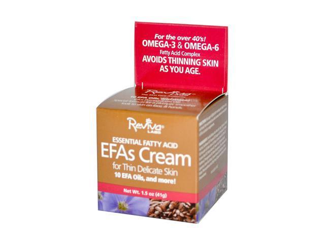 Reviva Labs Essential Fatty Acid EFAs Cream for Thin Delicate Skin 41g/1.5oz