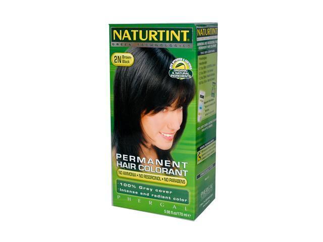 Hair Color Brown Black 2N - 5.98 oz - Liquid