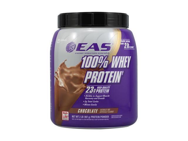 EAS - 100% Whey Protein Chocolate, 2 lb powder