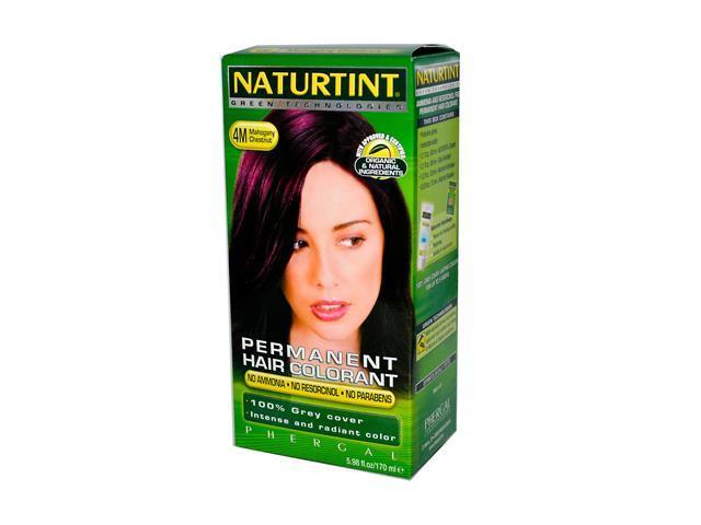 Naturtint Permanent Hair Colors Mahogany Chestnut (4M) 4.50 oz
