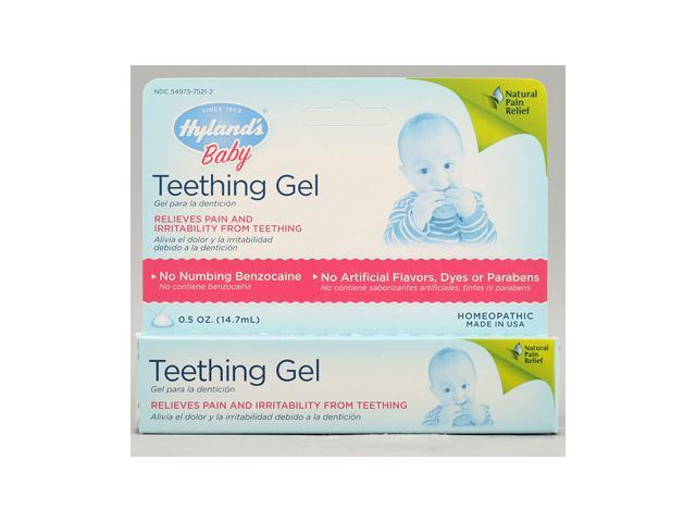 Baby Teething Gel .5 Oz by Hylands Homeopathic (1 Each)