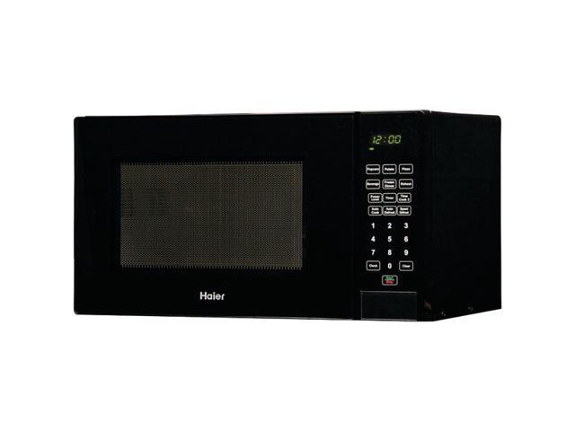 HAIER ZHMC920BEBB .9 Cubic-Ft 900-Watt Microwave Black