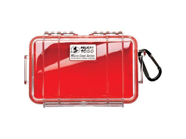 PELICAN 1050025170 1050 Micro Case (Red/Solid)