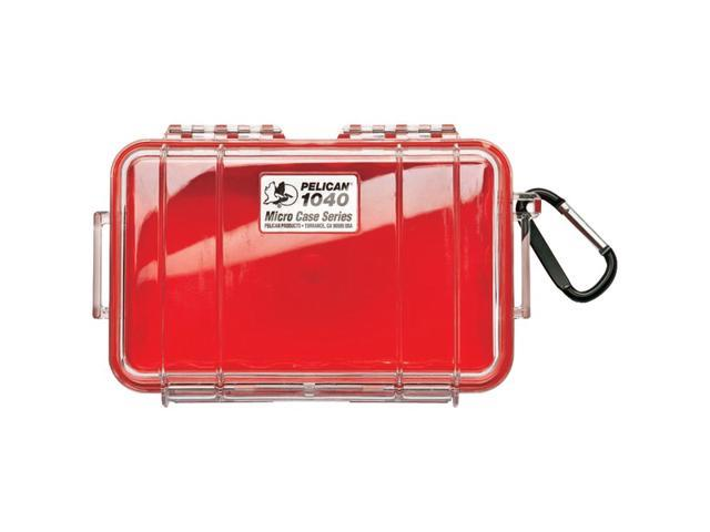 PELICAN 1040025170 1040 Micro Case (Red/Solid)