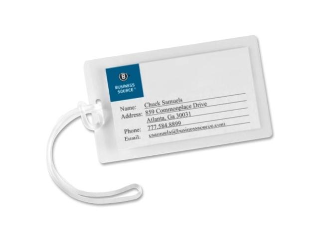 Laminating Pouch Tags w/Loop 10Mil 2 -1/4