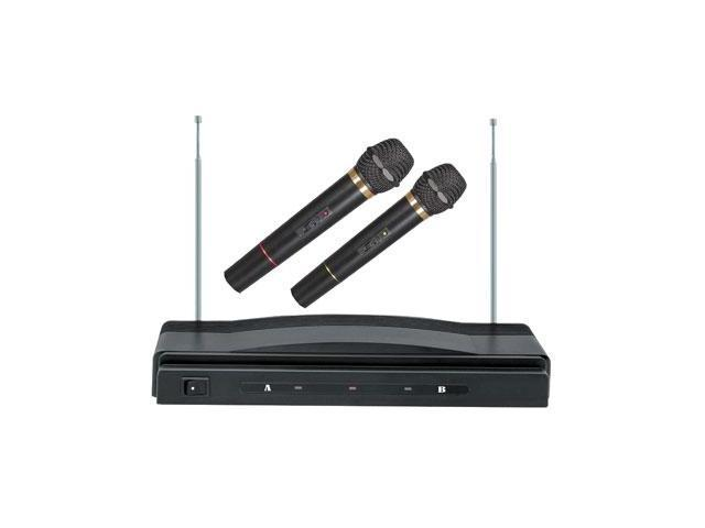 Supersonic SC-900 Professional Wireless Dual Microphone System