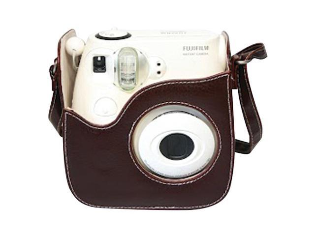 FUJIFILM 600011722 Instax Mini8 Brown Leather Case