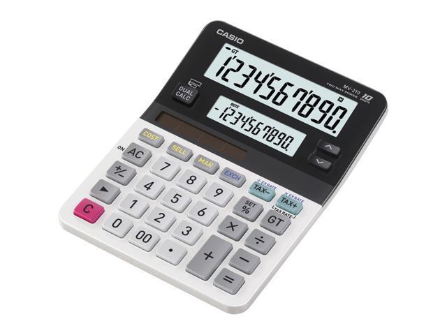 Casio MV-210 Calculator with Dual Display