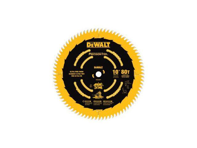 DW3218PT 10 in. 80 Tooth Precision Trim Circular Saw Blade
