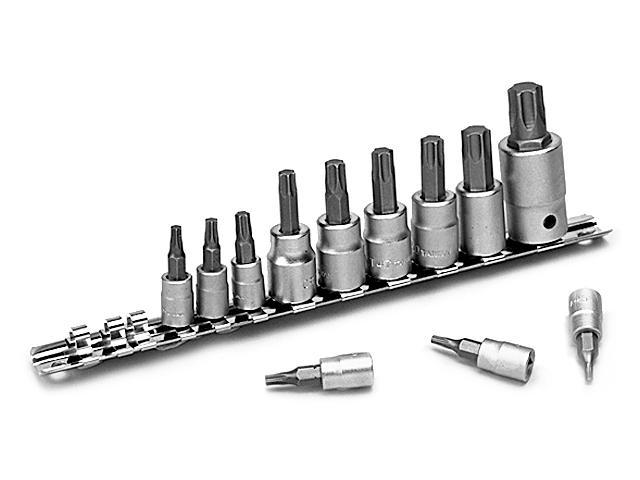 Performance W1335 12-Piece Star Bit Socket Set