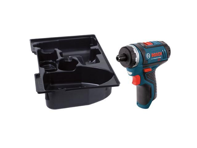 Bosch PS21BN 12V Max Li-Ion 1/4-Inch Drill/Driver with Insert Tray - Bare Tool