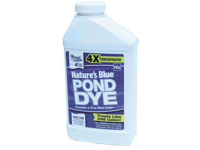 Airmax eco systems 530099 pond logic nature s blue pond for Blue pond dye