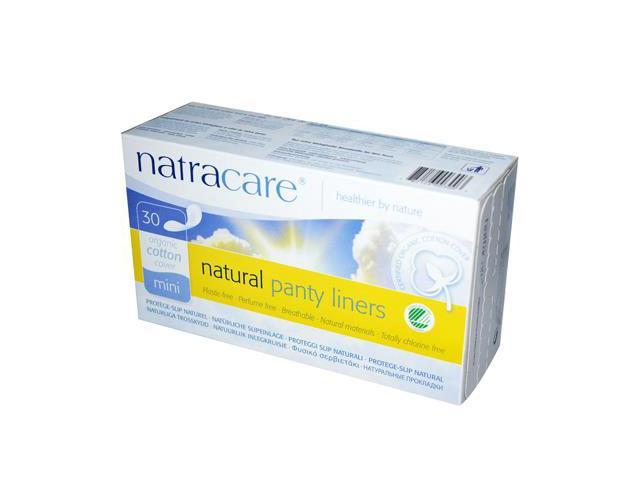 Natural Organic Mini Panty Liner - Natracare - 30 - Pad