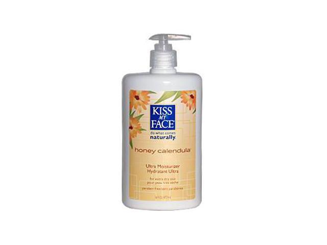 Moisturizer-Honey/Calendula - Kiss My Face - 16 oz - Liquid