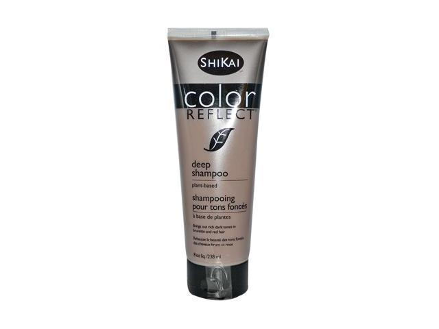Color Reflect Shampoo Deep - Shikai - 8 oz - Liquid